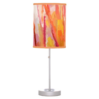 Yellow Forest Table Lamp