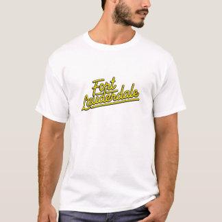 yellow Fort Lauderdale T-Shirt