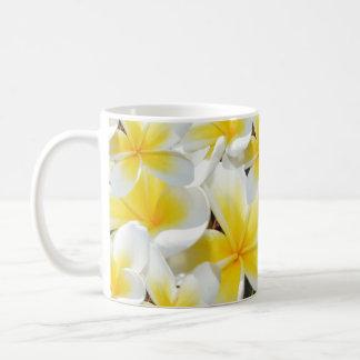 Yellow Frangipani Bouquet, Coffee Mug