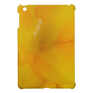 Yellow Fresia iPad Mini Covers