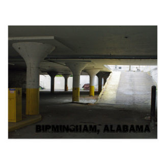 Yellow Garage Postcard