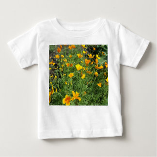 Yellow garden flowers baby T-Shirt