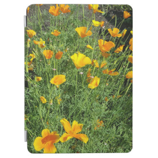 Yellow garden flowers iPad air cover