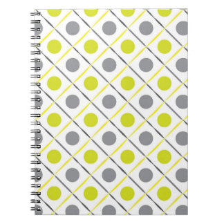 Yellow Geometric Notebook