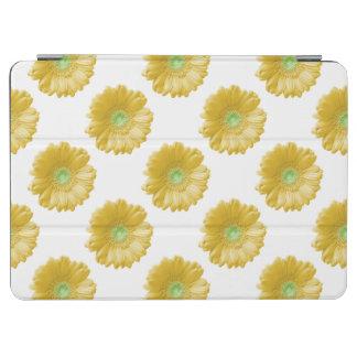 Yellow gerbera daisy iPad air cover