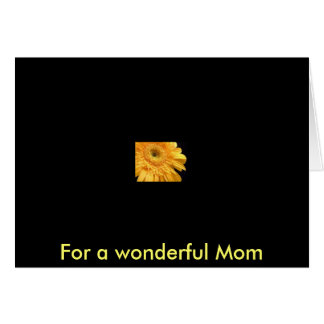 Yellow Gerbera Greeting Card