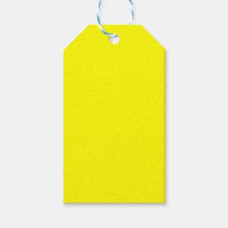 Yellow Gift Tags