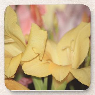 Yellow Gladiolus Coasters