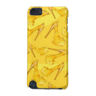 Yellow Gold High Heels Pattern Print Design iPod Touch 5G Cover