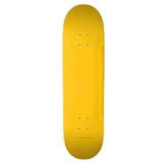 Yellow Gold Skate Decks
