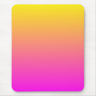 Yellow Gradient Mouse Pad