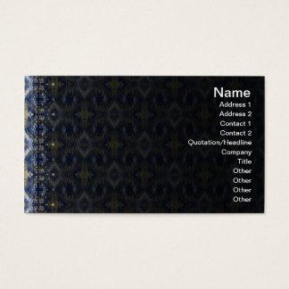 Yellow Grass Seamless Alternate Illusion Business Card