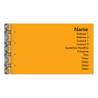 Yellow Grass Seamless Illusion Double-Sided Standard Business Cards (Pack Of 100)