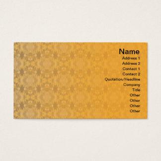 Yellow Grass Seamless Illusion Business Card
