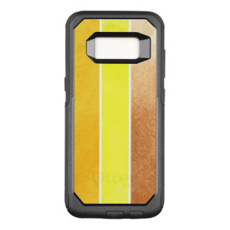 yellow great watercolor background - watercolor OtterBox commuter samsung galaxy s8 case