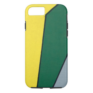 Yellow, Green and Grey Angles iPhone 7 Case