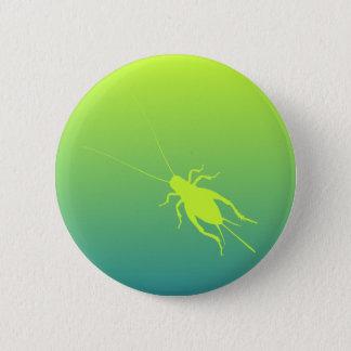 Yellow Green Cricket 2 Inch Round Button