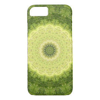 "Yellow-Green ""Evergreen"" Mandala Kaleidoscope Case-Mate iPhone Case"