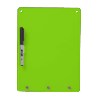 Yellow Green Home Decor Dry Erase Board by Janz