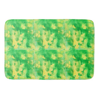 Yellow Green Large Bath Mat
