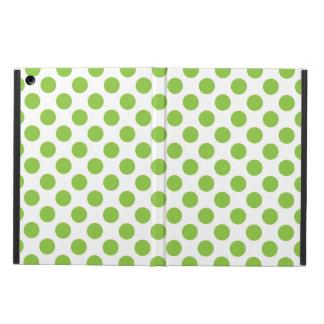 Yellow Green Polka Dots Cover For iPad Air