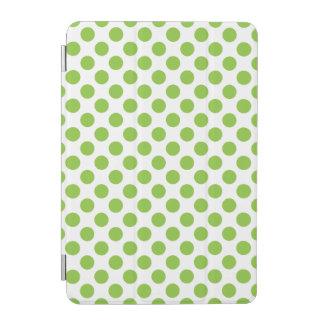 Yellow Green Polka Dots iPad Mini Cover
