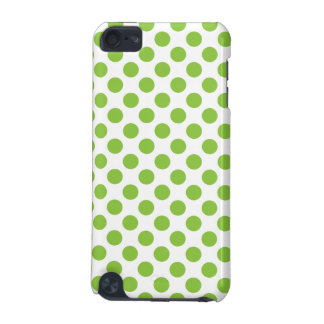 Yellow Green Polka Dots iPod Touch (5th Generation) Covers