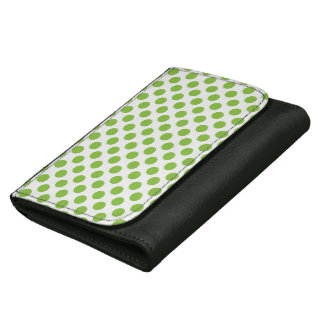 Yellow Green Polka Dots Wallets