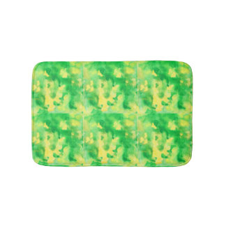 Yellow Green Small Bath Mat