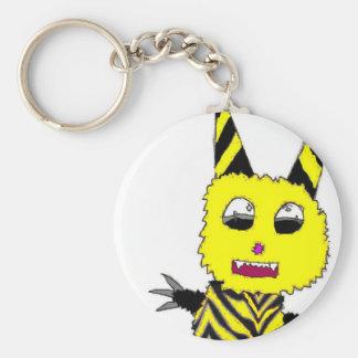 Yellow Gremlin Keychain
