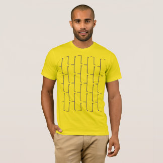 Yellow Grey Brick T-Shirt