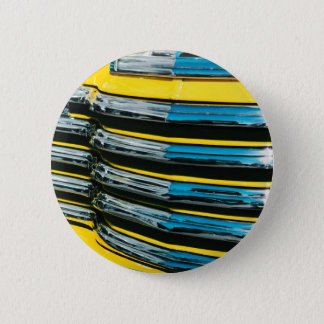 Yellow Grill 2 Inch Round Button