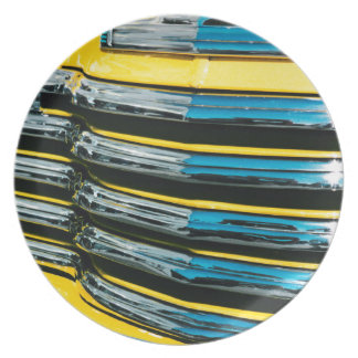 Yellow Grill Plate