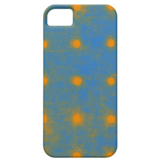 Yellow Grungy Cute Polka Dots iPhone 5 Cover