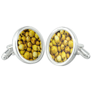 Yellow Guava Cufflinks