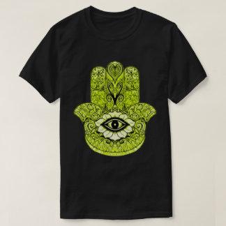 Yellow Hamsa Symbol T-Shirt