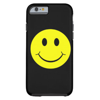 Yellow Happy Smiley Face iPhone 6 case