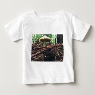 Yellow Hat Mushroom Baby T-Shirt