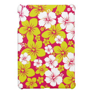 Yellow Hawaii Flowers Design Case For The iPad Mini