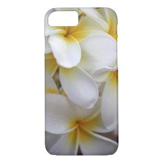 Yellow Hawaii Plumerias Tropical Design iPhone 7 Case