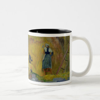 Yellow Haystacks, or Golden Harvest, 1889 Coffee Mugs