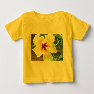 Yellow Hibiscus Baby T-Shirt