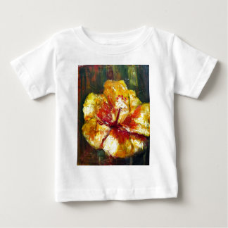Yellow Hibiscus Baby T-Shirt