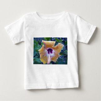 Yellow Hibiscus Flower Baby T-Shirt