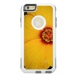 Yellow Hibiscus Otterbox Cell Phone Case