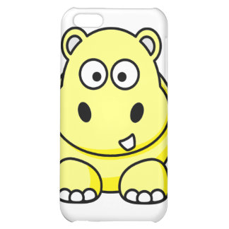 Yellow Hippo Case iPhone 5C Cover
