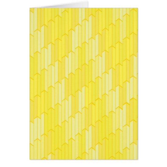 Yellow Honeycomb Cards