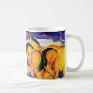 Yellow Horses Coffee Mug