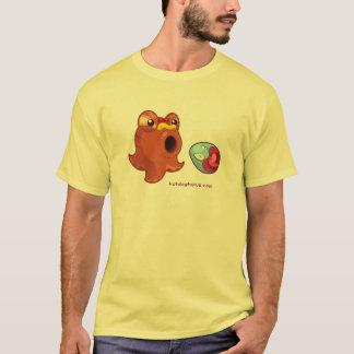 Yellow Hotdogtopus Hotdog T-shirt With Crazy Egg