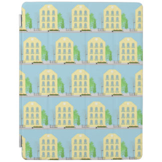Yellow houses iPad cover